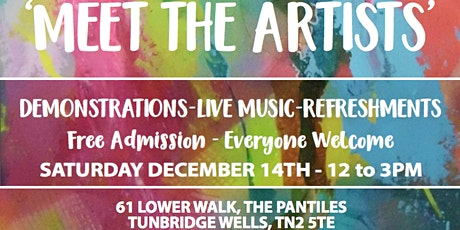 Meet the Artists: Live art demonstrations, music and refreshments tickets
