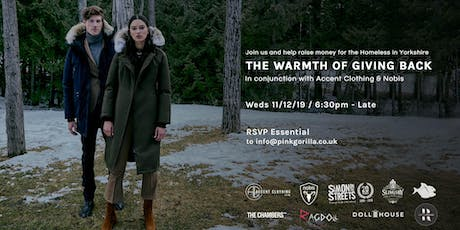 Accent Clothing x Nobis - The Warmth of Giving Back Charity Event tickets