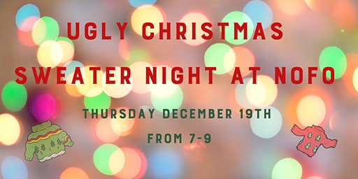 Ugly Christmas Sweater Night at NoFo Brew Co