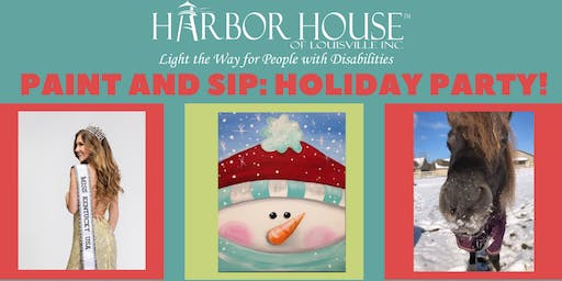 Harbor House Paint Party: Holiday Edition