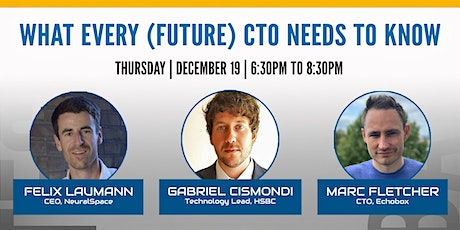 Tech Debates London:  What every (future) CTO needs to know tickets