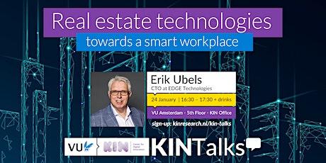 KINTalks: Real estate technologies - towards a smart workplace bilhetes
