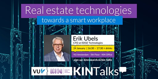 KINTalks: Real estate technologies - towards a smart workplace