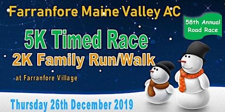 Farranfore St. Stephen's Day 5K Road Race & 2K Family Run/Walk tickets
