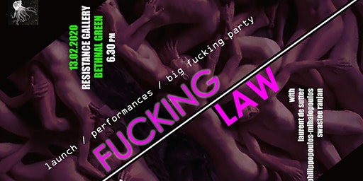 Book Launch: Fucking Law by Victoria Brooks