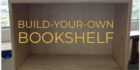 Build-Your-Own Bookshelf Workshop tickets