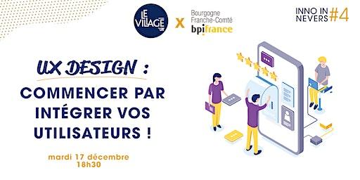 Conférence UX Design avec BPI France - Inno In Nevers #4