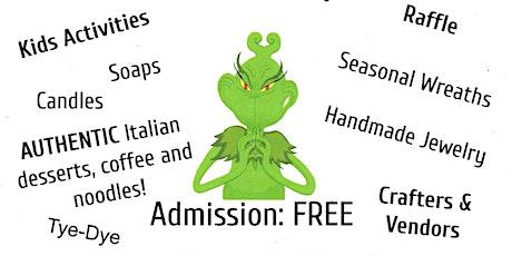 Merry Grinchmas craft/vendor event tickets