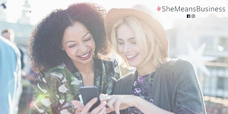 She Means Business: 2020 social media strategy workshop in Durham tickets