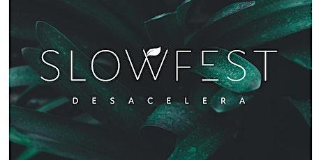 SLOWFEST | desacelera bilhetes