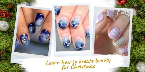 Winter/ Xmas Nails Art Course In London