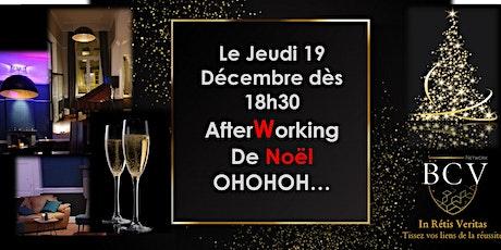 AfterWorking BCV Network... Joyeux Noël OHOHOH billets