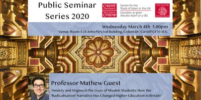 Islam UK Seminar Series 2019: Professor Mathew Guest