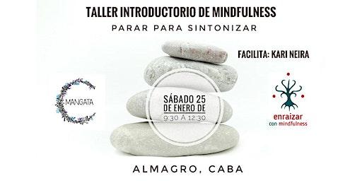 Taller Introductorio de Mindfulness| PARAR PARA SINTONIZAR