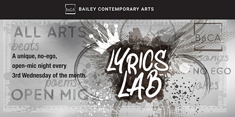 Lyrics Lab All Arts Open Mic tickets