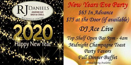 RJ Daniels New Year's Eve 2020 tickets