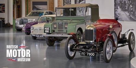 February Museum Entry - British Motor Museum tickets