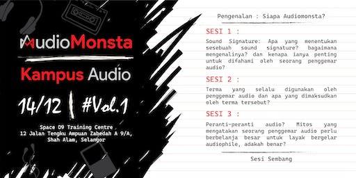 AudioMonsta: Kampus Audio Vol.1