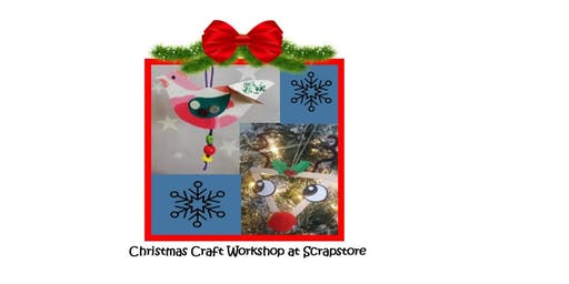 come and make some special memories to decorate your Christmas tree.