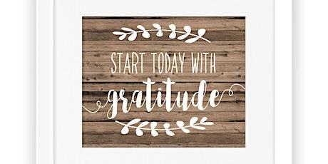 Mindful Teachers Event: Fostering an Attitude of Gratitude tickets