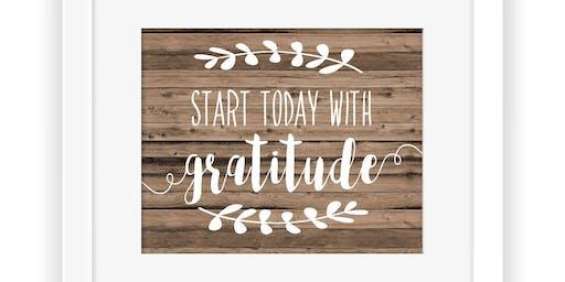 Mindful Teachers Event: Fostering an Attitude of Gratitude
