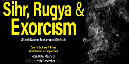 Sihr, Ruqya and Exorcism