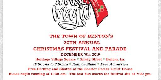 Christmas Parade and Festival Benton Rotary Club