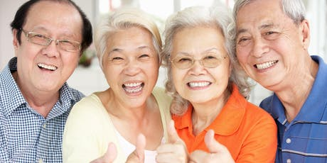 Seniors' Active Living Club (Mandarin) tickets