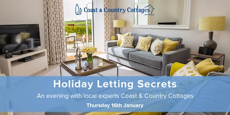 Holiday Letting Secrets with Coast & Country Cottages tickets