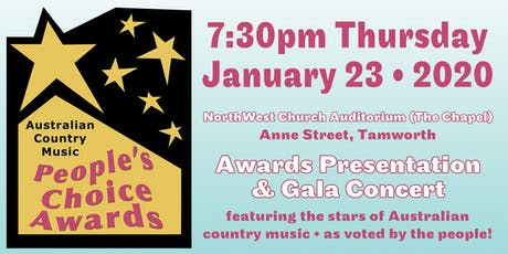 Australian Country Music People's Choice Awards tickets