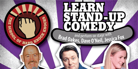 Learn stand-up comedy in Melbourne this February with Dave O'Neil tickets