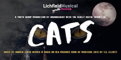 LMYT - CATS Tues 28th April 2020 - 7.30pm tickets