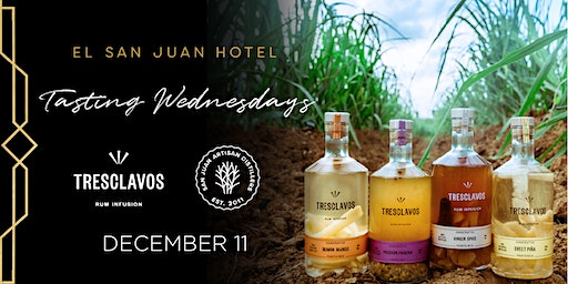 Tres Clavos, Tasting Wednesday at Aquarelle On The Beach