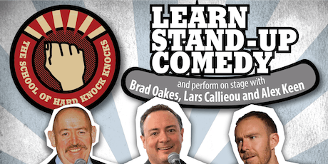 Learn stand-up comedy in Melbourne this March with Lars Callieou tickets
