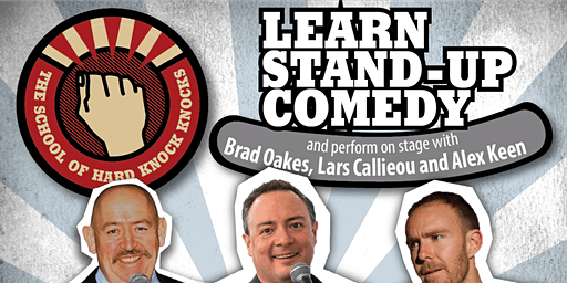 Learn stand-up comedy in Melbourne this March with Lars Callieou