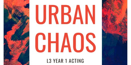 "Northampton College Presents ""Urban Chaos"" tickets"