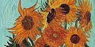 Pop-up Painting  - Van Gogh's Sunflowers