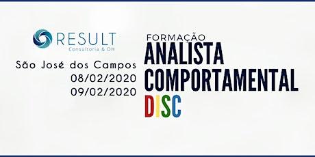11ª FORMAÇÃO EM ANALISTA COMPORTAMENTAL DISC ingressos