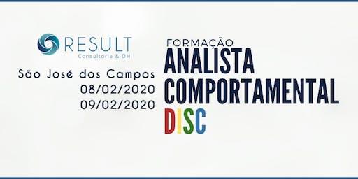 11ª FORMAÇÃO EM ANALISTA COMPORTAMENTAL DISC