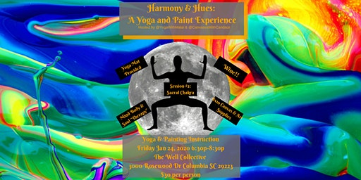 Harmony and Hues: A Yoga and Paint Experience