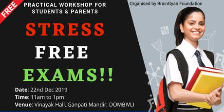 Free Workshop | Scientific Study Techniques for Stress Free Exam tickets