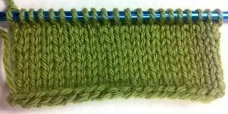 Skeins & Scones - A Knitting Class billets