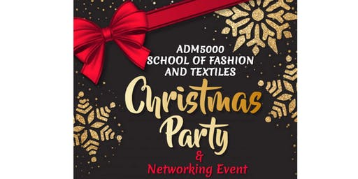 BCU - School of Fashion and Textiles - Christmas Party and Networking Event
