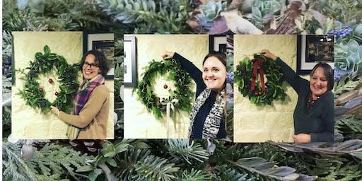 Wreath making social