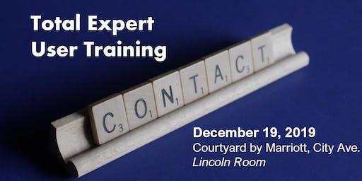 Total Expert User Training