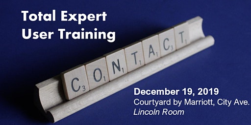 Total Expert User Training