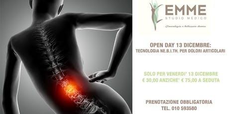 Open Day: tecnologia non invasiva per dolori articolari biglietti