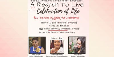 Reason To Live Celebration
