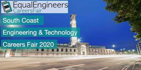 South Coast Engineering & Tech Careers Fair 2020 tickets