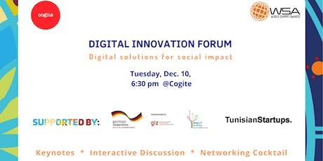 Digital Innovation Forum billets